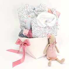 2960cbc438b9 Petit Bateau Neutral Baby Gift Basket - Baby Bunting – Bonjour Baby Baskets  - Luxury Baby