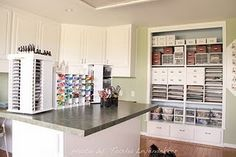 Complete blog on crafty organization.  I am going to need this when I move into my apartment!! I'm already trying to figure out where all my crafty stuff will go in my tiny home!