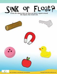 Slideshow: Sink or Float?