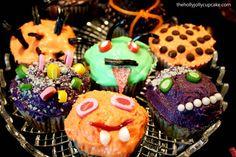 Spinat-Creepcakes