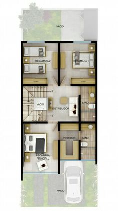 House Layout Plans, Duplex House Plans, Modern House Plans, Small House Plans, House Layouts, Modern House Design, House Floor Plans, 4 Bedroom House Designs, House Plans South Africa
