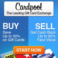 Save big on discounted Gift Cards @ Cardpool! Buy Discounted Gift Cards, Gift Card Exchange, Discount Gift Cards, Saving Money, Budgeting, My Favorite Things, Group, Big, Board