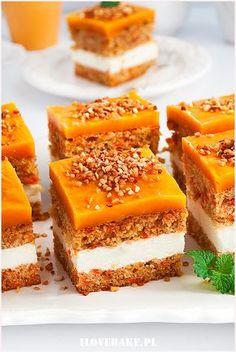 Wyszukiwałeś marchew - I Love Bake Polish Desserts, Polish Recipes, Baking Recipes, Cake Recipes, Dessert Recipes, Delicious Desserts, Yummy Food, Kolaci I Torte, Different Cakes