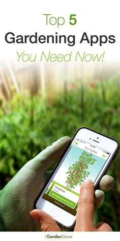 Top 5 Gardening Apps You Need Today! - There are some really cool apps available now. Check out this very informative post!
