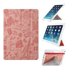 Amazon.com: iPad Air Case - OZAKI O!coat Travel 360° Multi Angle Smart Case For Apple iPad Air. 2012 Red Dot Design / Adjustable 360° Multi-angle Viewing / Y-cover tri-axial Stand / Auto Sleep & Wake - Paris: Computers & Accessories