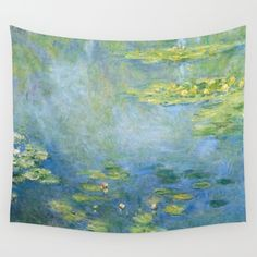 Buy Water Lilies 1906 by Claude Monet Wall Tapestry by Palazzo Art Gallery. Worldwide shipping available at Society6.com. Just one of millions of high quality products available.