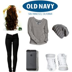 Old Navy, created by mb-misfit on Polyvore