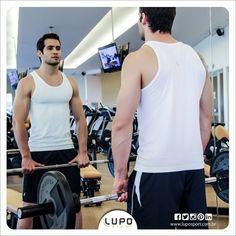 Regata Running Lupo Sport (Cód. 70000-001) e Short Napoles Lupo Sport (Cód. 71271-001): para você que busca mais conforto na hora de treinar.