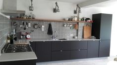 New kitchen.