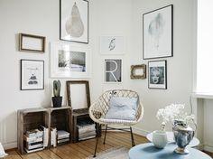 Wit en blauwtinten in een heerlijk lente-proof huis in Zweden - Roomed | roomed.nl