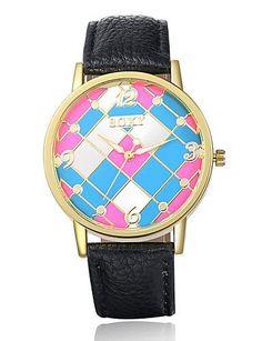 SKLIT Frauensüßigkeitfarben-Uhr-Art und klassisches Merkmal Qualitätsarmbanduhr Lederuhr einzigartige Uhren - http://uhr.haus/sklit-watches/sklit-frauensuessigkeitfarben-uhr-art-und-uhren