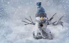 havazás hóember tél