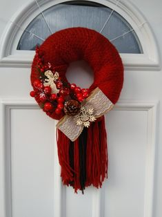 4th Of July Wreath, Wreaths, Fall, Home Decor, Autumn, Homemade Home Decor, Door Wreaths, Deco Mesh Wreaths, Garlands