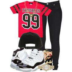 """""""TROUBLES 99"""" by cheerstostyle on Polyvore"""
