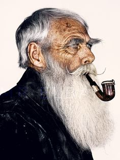 #3 Mr Frank Moon His 54 year old moustache and beard styled with Capt Fawcett's Moustache Stiffener and Beard Oil.. #mrelbank.tumblr.com http://www.captainfawcett.com/