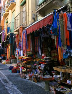 Shopping in Marbella, Spain