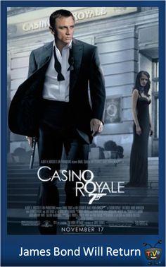 James Bond Will Return - Casino Royale Casino Royale Movie, Casino Movie, Casino Theme Parties, Casino Party, James Bond, Casino Quotes, National Sleep Foundation, Casino Outfit, Casino Cakes