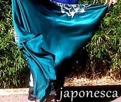 Furoshiki o pañuelo típico japonés que es un pareo.