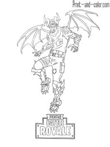 Fortnite Coloring Pages Print And Color Com Dibujos En