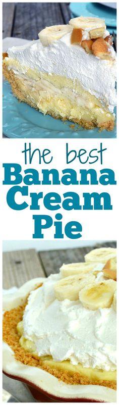 Banana Cream Pie..best banana cream combo...ever!!..bar none.