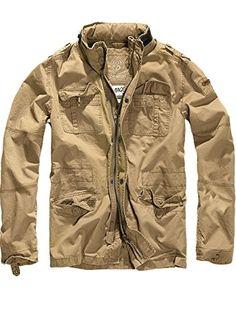Brandit Britannia Jacket Giacca verde oliva  Amazon.it  Sport e tempo libero 8728b678ed41