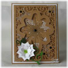 Stamps - Come Let Us Adore Him, His Birth, ODBD Custom Fancy Foliage Die, ODBD Custom Peaceful Poinsettias Dies, ODBD Custom Flourished Star Pattern Die