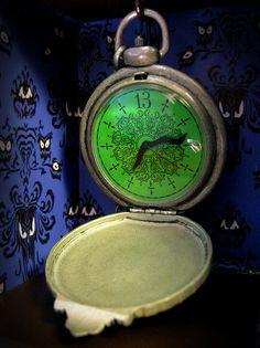 Haunted Mansion Pocketwatch by Steam Pirate