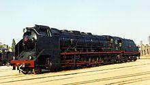 Locomotora de Vapor 151F-3101. És la proposta del Museu del Ferrocarril de Catalunya per al viquiprojecte 'Una Joia del Museu' (DIM 2013)
