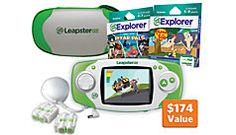 LeapsterGS™ Disney Ultimate Bundle, green #LeapFrogWishList