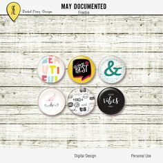 May Documented - Freebie