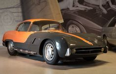 Abarth 209A Boano Coupe... a rare beauty!