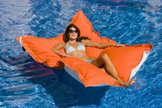 Luxury Floating Pool Lounge - Please get this for me.... and then don't bother me.