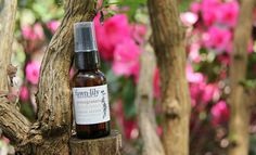 Pomegranate + Helichrysum Facial Serum: Handcrafted with a rich and rejuvenating blend including organic Rosehip seed oil, organic Jojoba oil, Kukui nut oil, Meadowfoam oil, organic Pomegranate seed oil, organic Tamanu oil, Carrot seed essential oil, organic Helichrysum essential oil, organic Cedarwood essential oil, and Vitamin E Oil (from certified non-GMO sources).