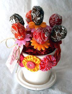 Lollypop pot