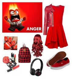 Inside Out: Anger by captain-jordan-808 on Polyvore featuring polyvore and art