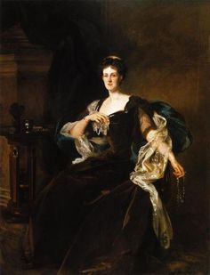 The Countess of Lathom, 1904 by John Singer Sargent. Realism. portrait. Chrysler Museum of Art, Norfolk, VA, US