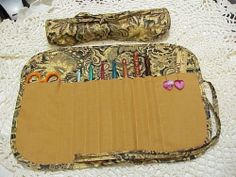 Beautiful Brocade quilted crochet hook case / holder You can find it in my ebay store. http://www.ebay.com/itm/Beautiful-Brocade-quilted-crochet-hook-case-holder-/161165233579?pt=LH_DefaultDomain_0&hash=item2586324dab