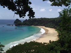 A mais bela praia do mundo Baía do Sancho, em Fernando de Noronha (Foto: Ana Clara Marinho/TV Globo)