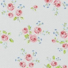 Cotton Ring of Roses 5 - Cotton - blue