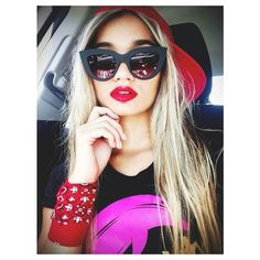 Go on Pia Mia's Website...Check,Check,Check It Out... @Pia Lappalainen Mia Website:http://shoppiamia.com/ #PiaMia #RedLipStick #WolfPack