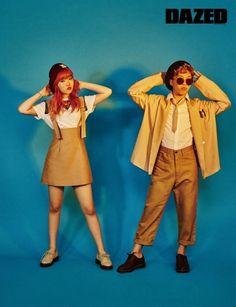 Sibling Duo Akdong Musician Poses for Dazed & Confused Magazine Lee Soo Hyun, Akdong Musician, Star Magazine, Dazed And Confused, Choi Seung Hyun, K Pop Star, Fandom, Korean Entertainment, Korean Bands