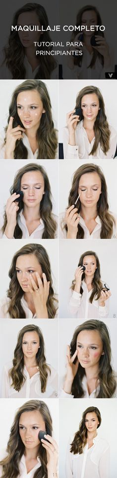Tutorial - Maquillaje completo para principiantes. #MakeupTips #TipsDeMaquillaje