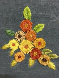 Getting to Know Brazilian Embroidery - Embroidery Patterns Brazilian Embroidery Stitches, Hand Embroidery Stitches, Crewel Embroidery, Hand Embroidery Designs, Embroidery Techniques, Cross Stitch Embroidery, Embroidery Needles, Hand Stitching, Hand Embroidery Flowers