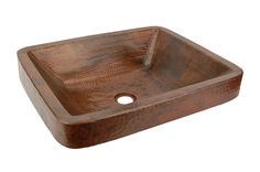 Premier Copper Products VREC19SKDB Rectangle Skirted Vessel Hammered Copper Sink In Oil Rubbed Bronze is made by the brand Premier Copper Products. It has a part number of VREC19SKDB.