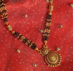 Latest 50 Mangalsutra Pendant Designs (2021) Diamond Mangalsutra, Gold Mangalsutra Designs, Locket Design, Temple Jewellery, Jewelry, Indian Bridal Outfits, Circular Pattern, Diamonds And Gold, Pendant Design
