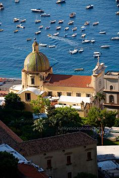 Cathedral of Santa Astuna in Positano ~ Amalfi Coast, Italy Salerno Campania
