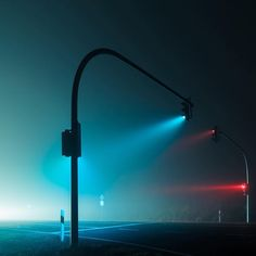 Print on Perspex - Misty Road Blue - Andreas Levers - The Cool Hunter Landscape Photography Tips, Dark Photography, Scenic Photography, Night Photography, Street Photography, Photography Basics, Aerial Photography, Landscape Photos, Night Aesthetic