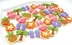 Little Luau Cookies | The Sweet Adventures of Sugar Belle