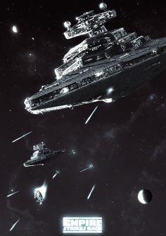Star Wars - A long time ago, in a galaxy far, far, away...
