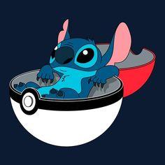 Lilo and Stitch x Pokemon Disney Stitch, Lilo Stitch, Lilo And Stitch Quotes, Cute Stitch, 626 Stitch, Disney Pixar, Disney And Dreamworks, Disney Characters, Disney Kawaii